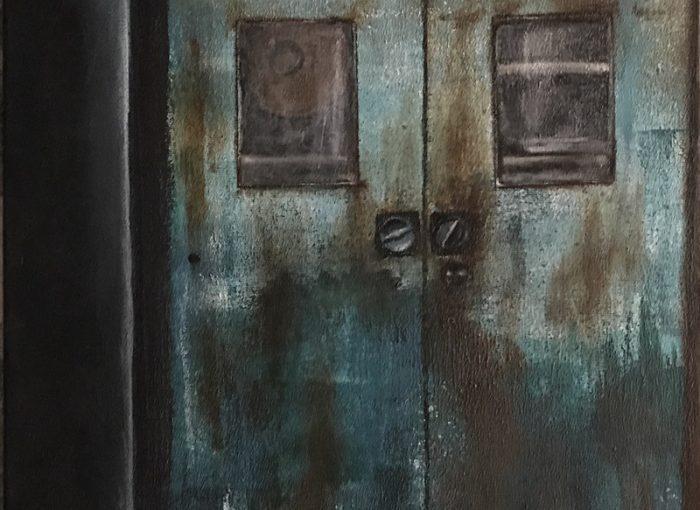 Leinwand - Industrial - Die Tür Orte voller Spuren der Vergangenheit - Gegenwart - Zukunft - Daniela Rogall