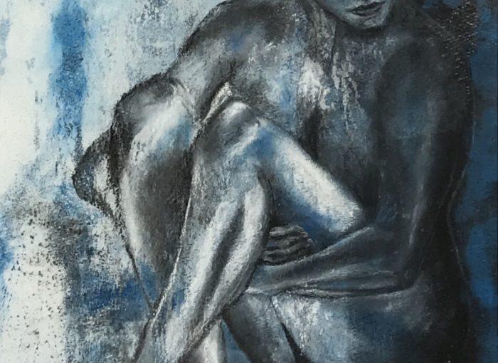 Blauer Akt No. 2, Gefühlstiefe - Daniela Rogall