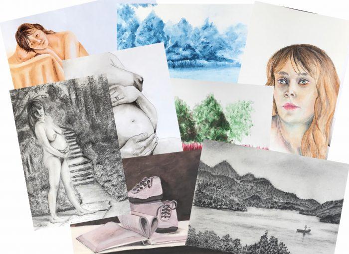 Querbeet- verschiedene Techniken und Materialien - Daniela Rogall