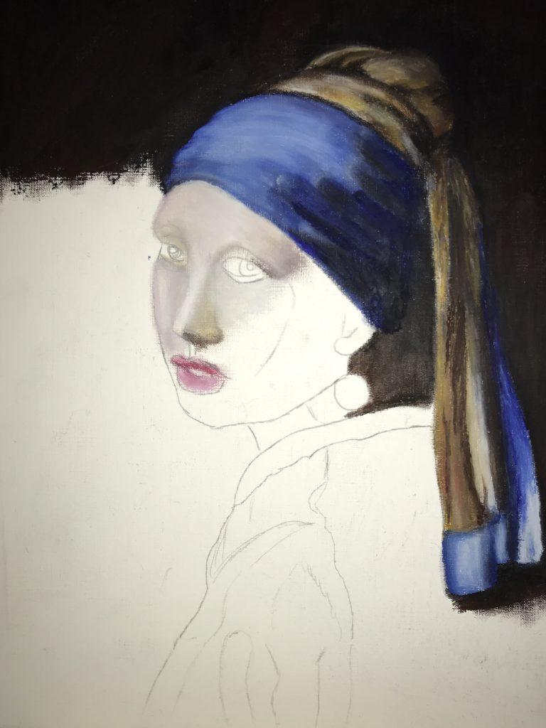 Das Mädchen 1 - Kopie eines Meisters
