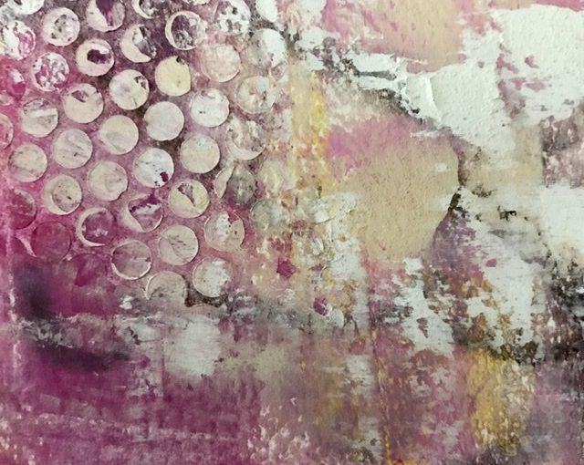 Cold wax Kaltwachsmalerei Workshop